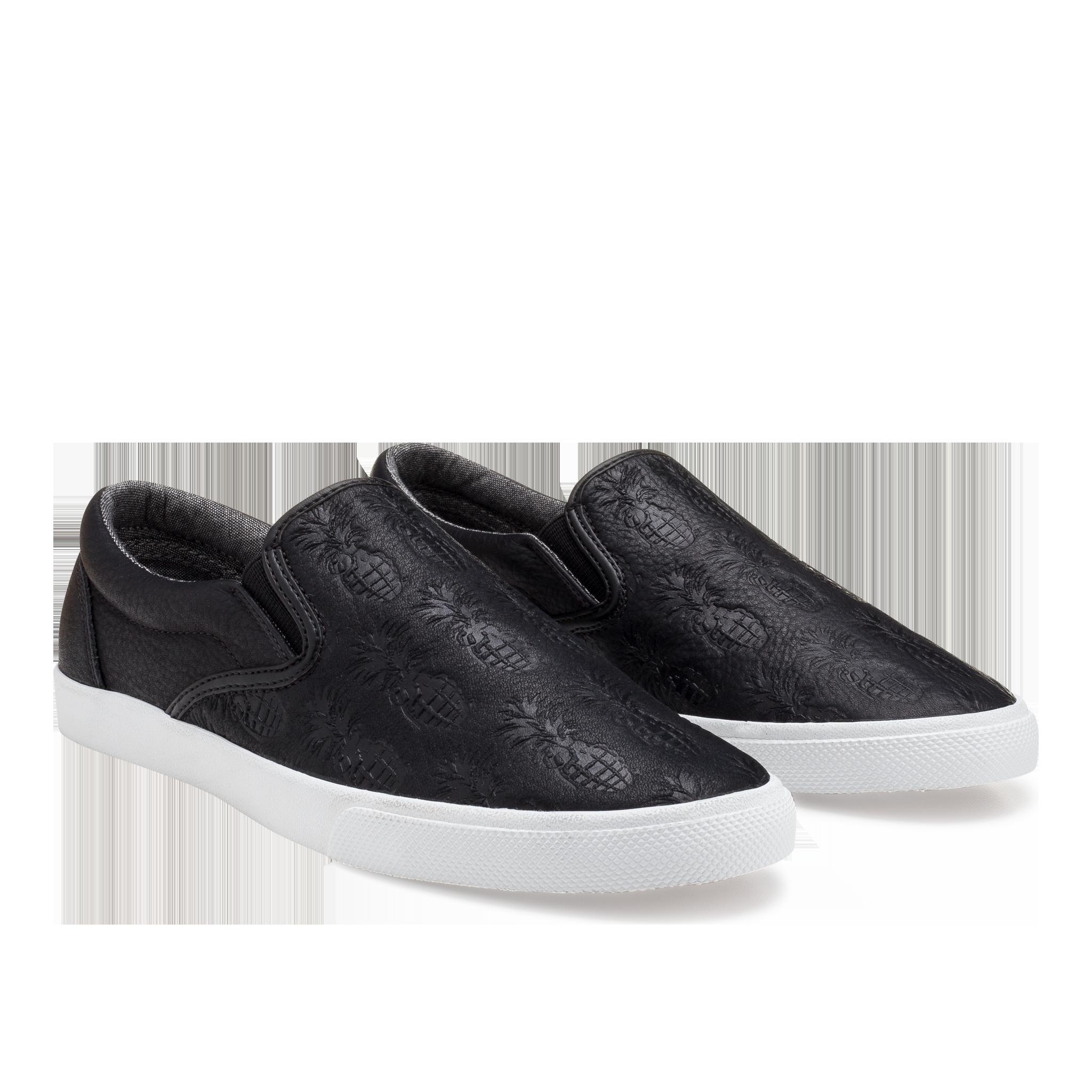 f50de701fe00 BucketFeet - Pineappleade Black Leather (Women s)