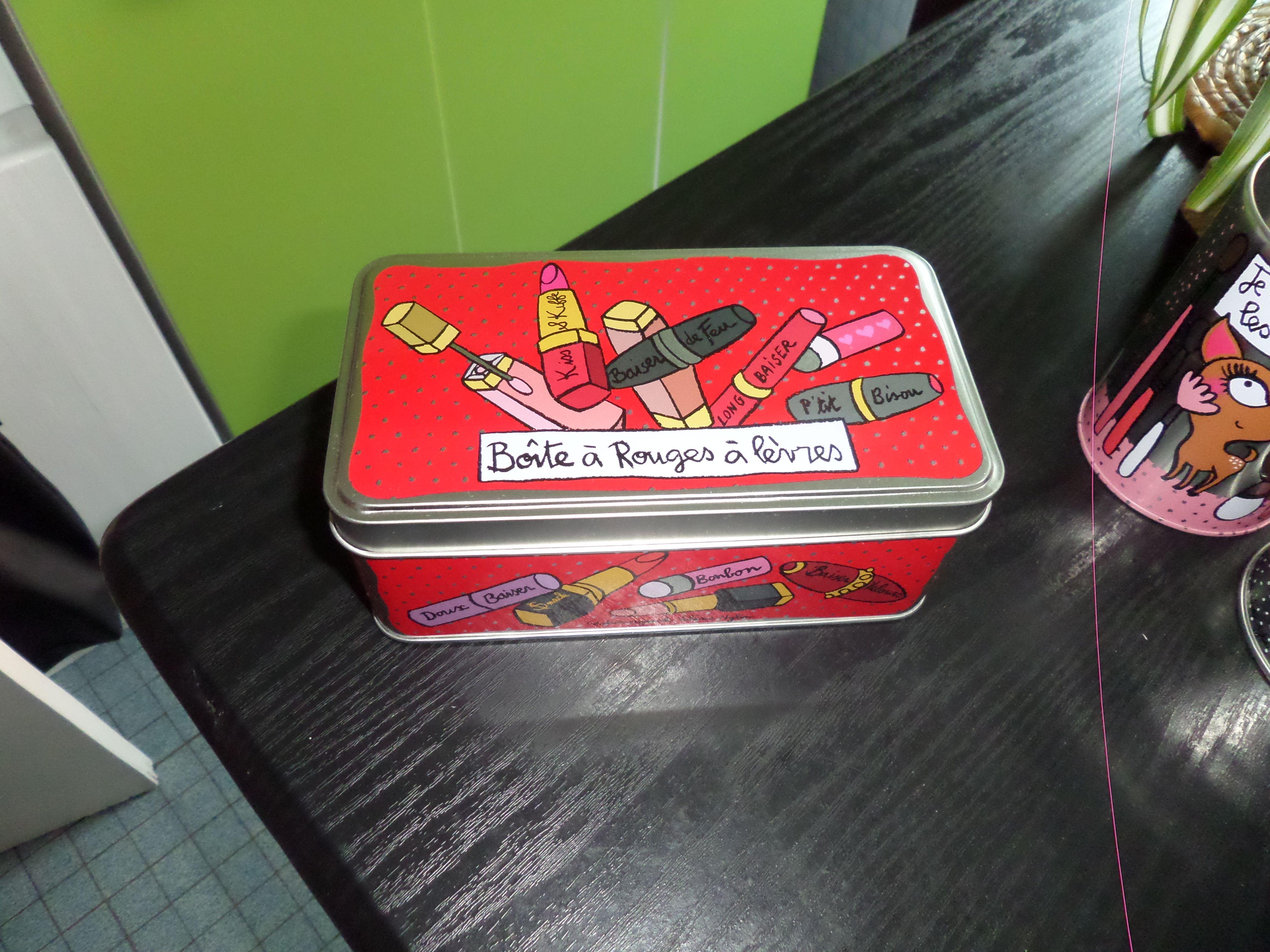 Boite à rouges à lèvres (petit model)