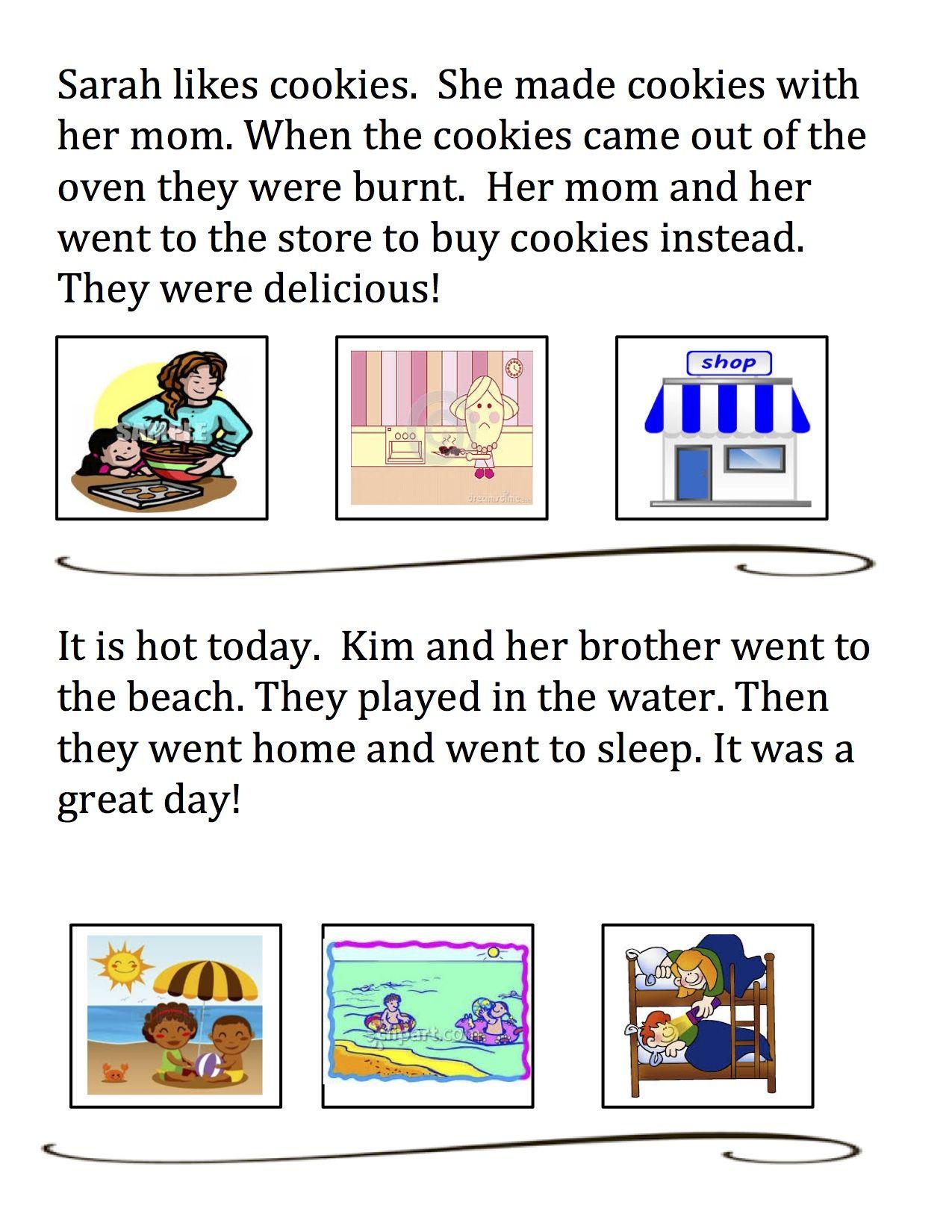 Beginning Middle End Comprehension Short Passages Math Addition Worksheets Math Fact Worksheets Math Time [ 1650 x 1275 Pixel ]