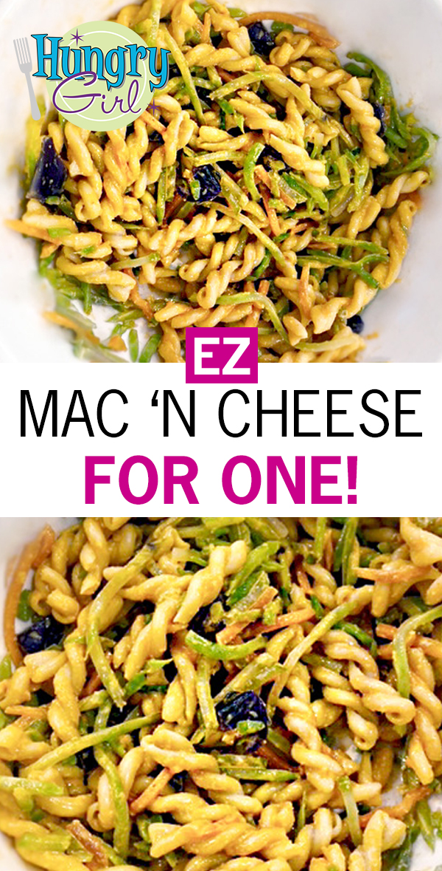 Microwave Mac & Cheese in a Mug + More Healthy Comfort