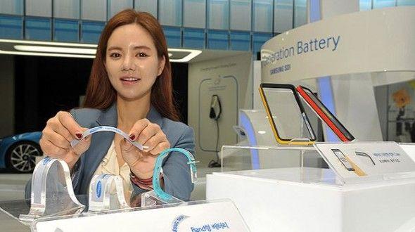 Sabías que Nuevas baterías flexibles y ultra delgadas de Samsung