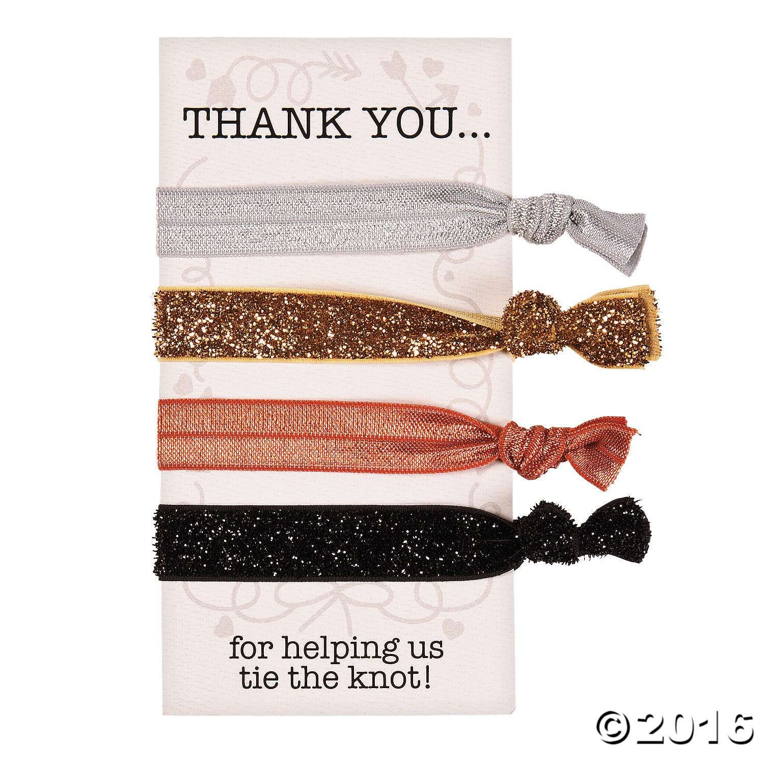 Wedding Attendants Gifts: These Hair Ties Make Wonderful Bridesmaid Gifts! Pretty