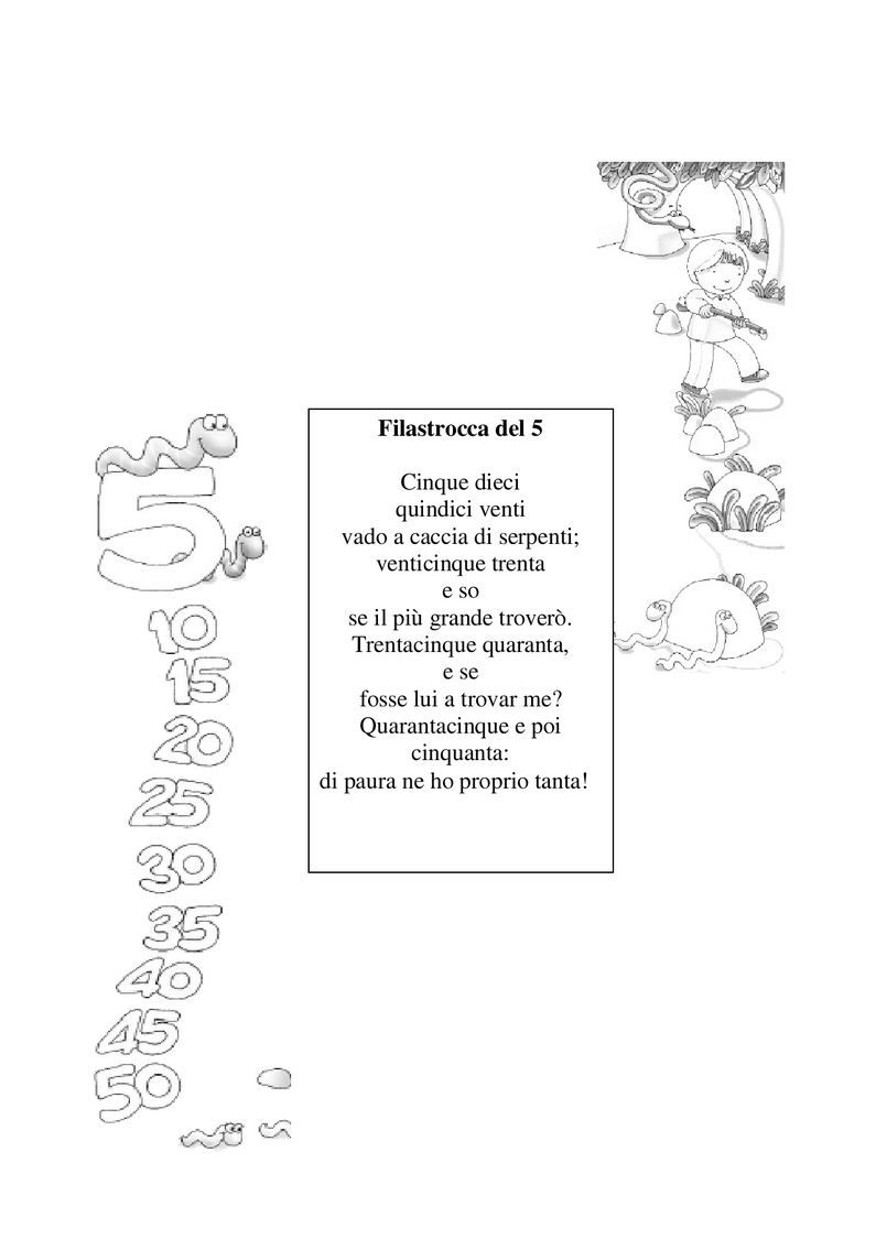 W Le Tabelline Pdf To Flipbook Tabelline Filastrocche Pois