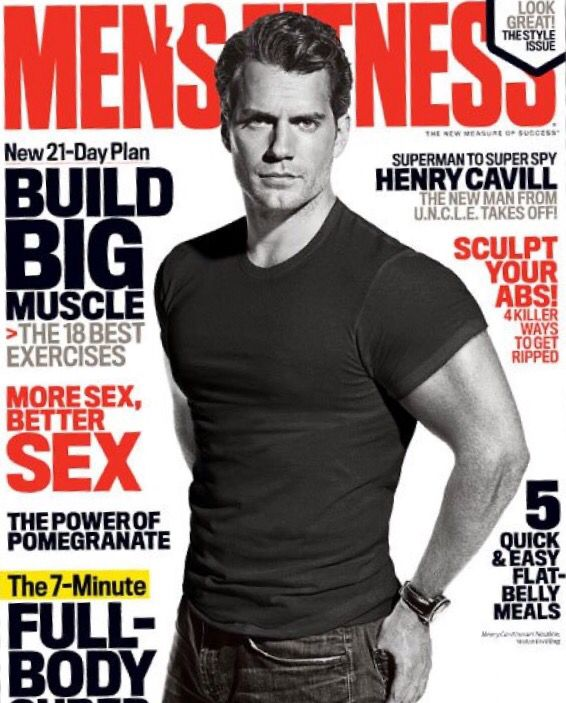 6dd01674b92 Henry on the August cover of Men s Fitness.