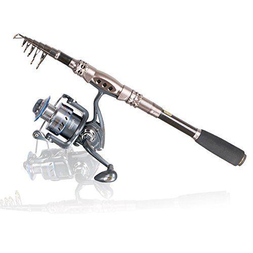 Telescopic Fishing Rod Eocusun Ultra Light 5 Types of