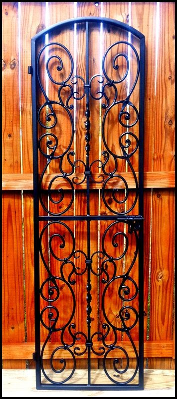 Falcon Crest Iron Wine Cellar Door Or Gate Many Sizes To Choose