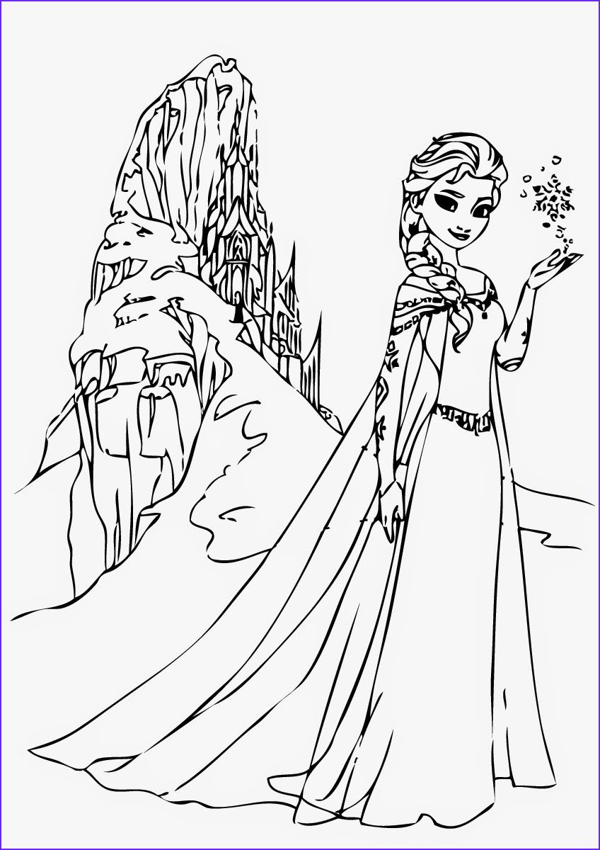 Elsa Coloring Books 101 Frozen Coloring Pages October 2019