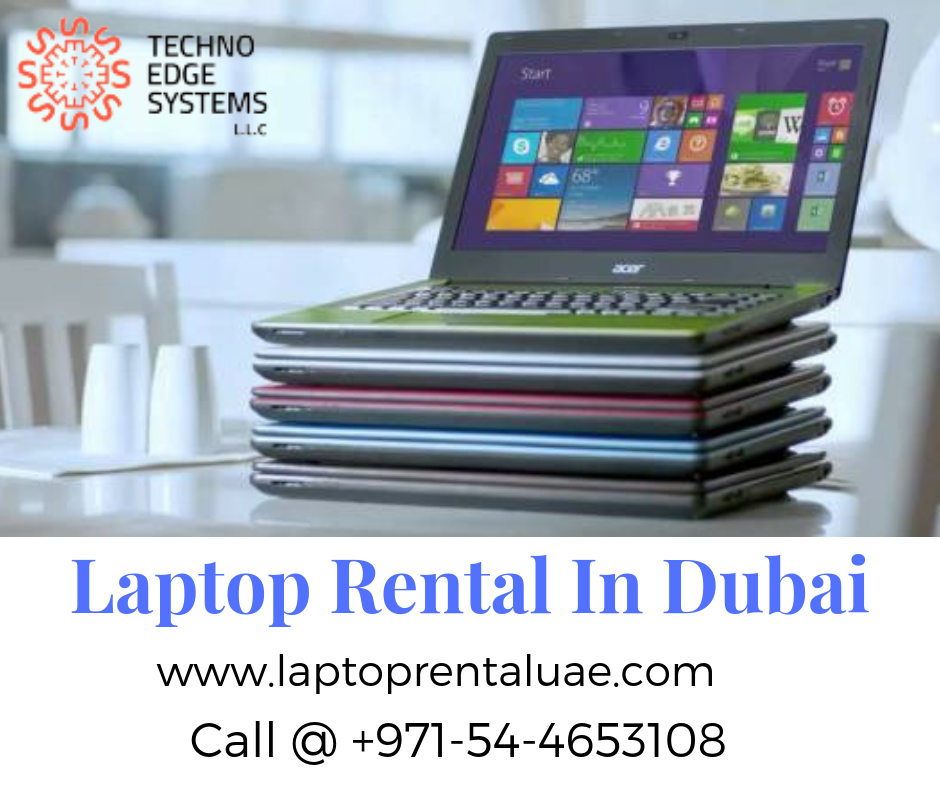IT Rental Services Dubai - We provide brand new laptop