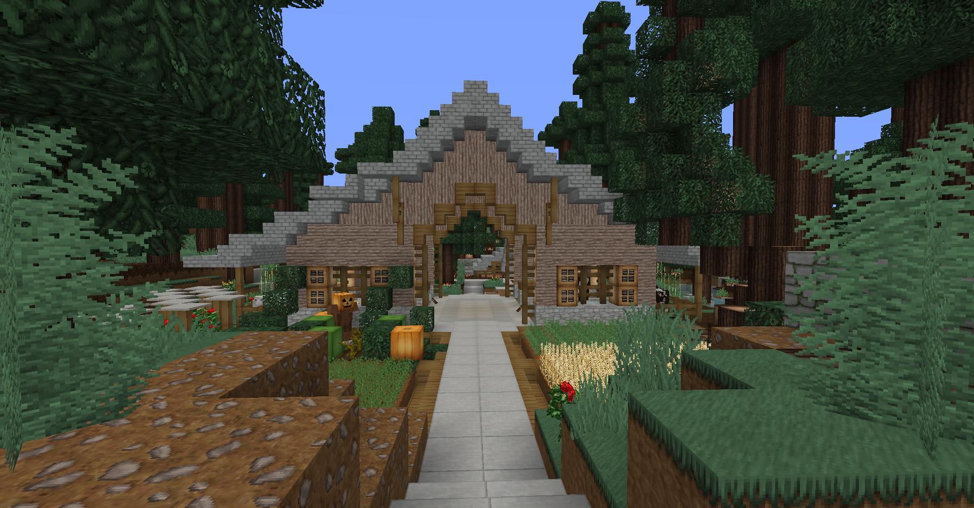 Minecraft Vegetable Garden Ideas | Garden Ideas