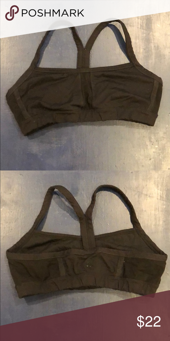 c343138e399f Lululemon Flow Y sports bra: Size 10 Good condition. Too small for my  chest. Solid black color. lululemon athletica Intimates & Sleepwear Bras