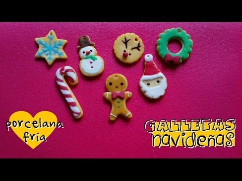 Christmas Cookie Decorations 7 in 1 polymer clay tutorial