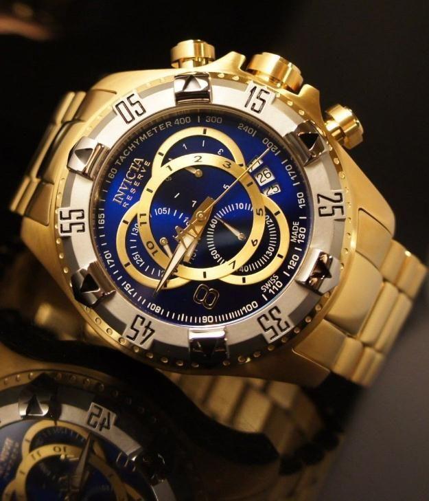 c0b7523b232 Relógios Rolex · Relógios De Luxo · Joias Masculinas · Relógio Invicta  Original Frete Grátis