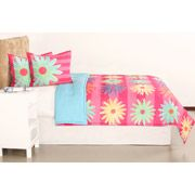 your zone popalicious stripe bedding comforter set