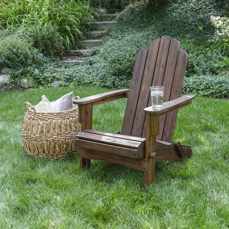 Manor Park Acacia Wood Adirondack Outdoor Patio Chair Multiple
