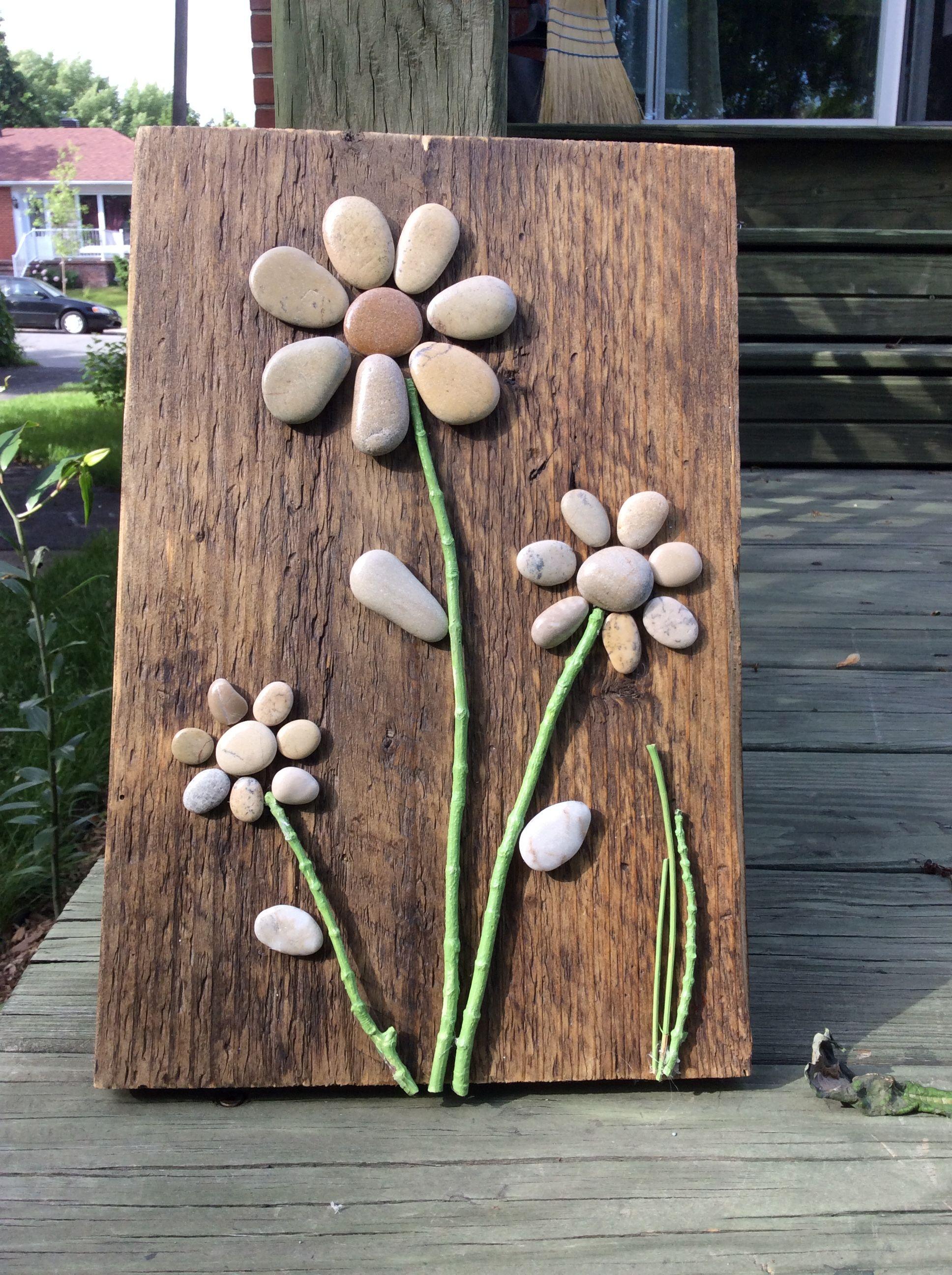 Stone Crafts Rock River Rocks Nature Hobby Craft Ideas Para Casa Sea Glass Art Batu