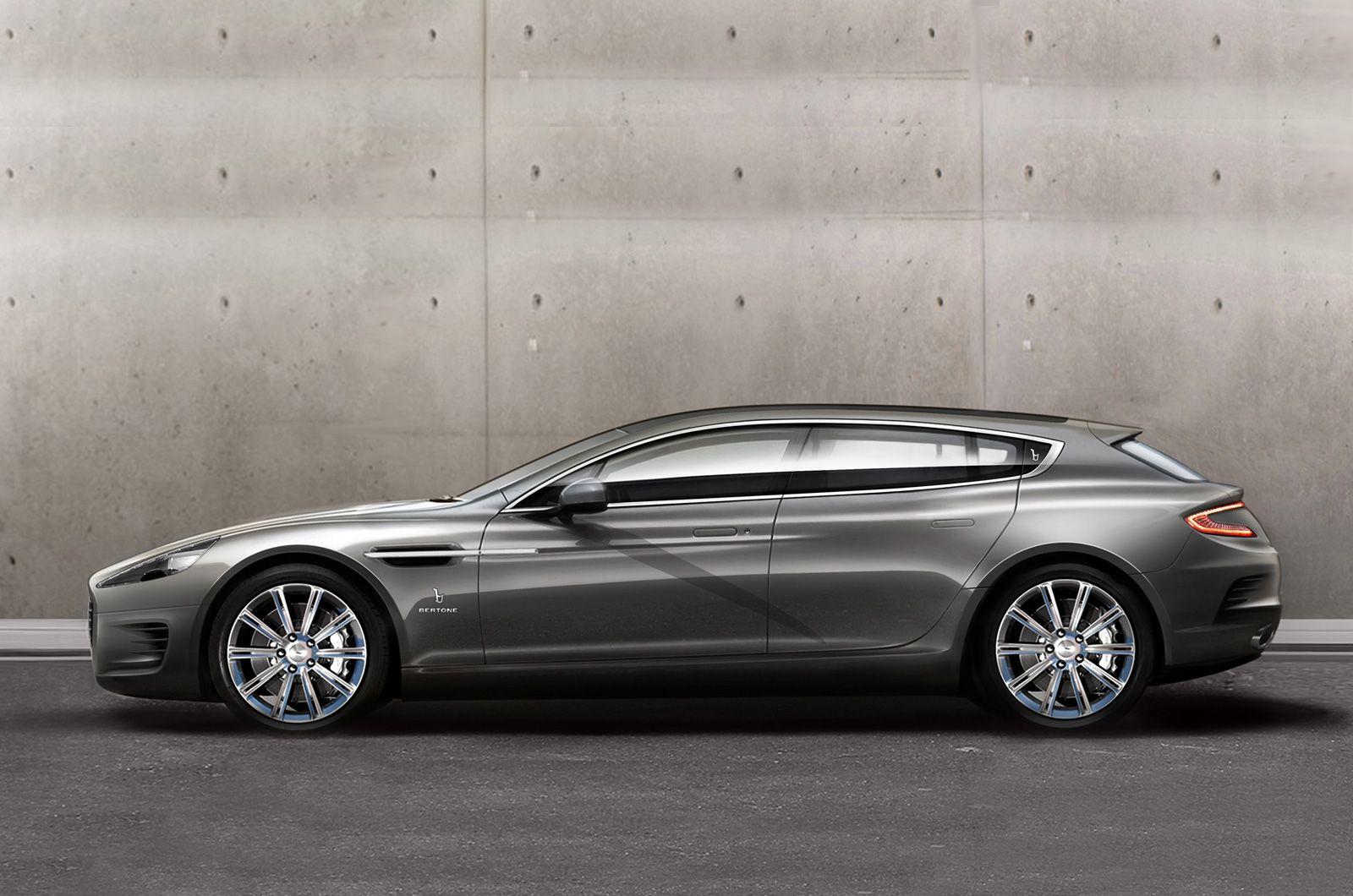 Geneva motor show bertone jet aston martin rapide shooting brake
