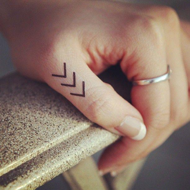 Tattoo symbol hand finger thumb