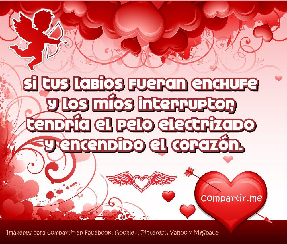 Poemas De San Valentin Compartirme Imagen Con Fondo De Corazones