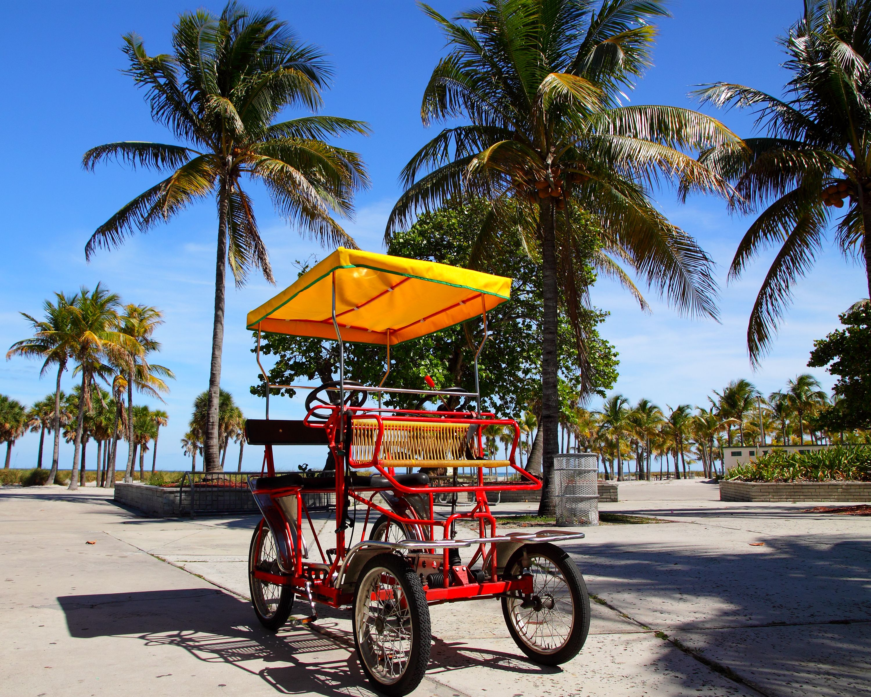 Rent A Bike At Crandon Park In Key Biscayne And Enjoy The Whole
