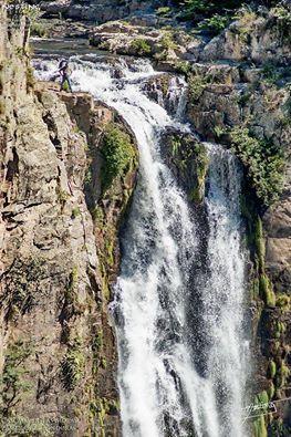 Cascada El Salto en el Valle del Yeguare en las cercanías de Tegucigalpa