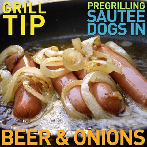 Craft beer isn't just for snobs - it's for hot dogs too! #HowIHotDog @farmerjohnla #ad #sauté #grillingtips