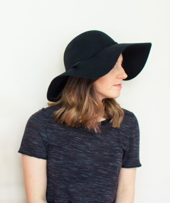Add a touch of class to any ensemble with the Highclere Hat, $36.