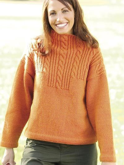 Autumn Harvest Sweater Free Knitting Pattern Download Find This