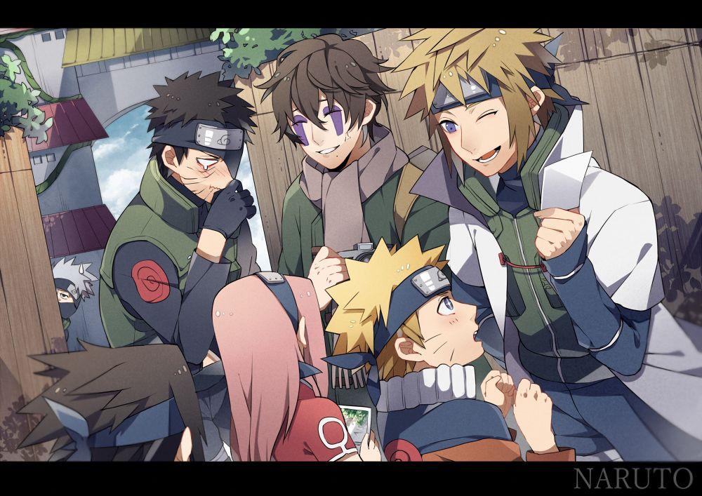 Haruno Sakura, - Uzumaki Naruto, Uchiha Sasuke - Hatake ...