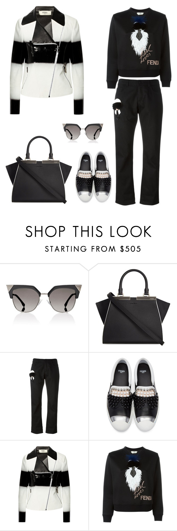 """Fendi"" by principessalove ❤ liked on Polyvore featuring Fendi"