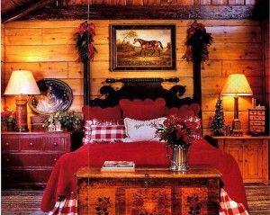 Beautiful Equestrian-Themed Bedroom