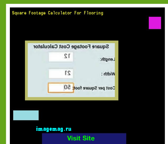 Square Footage Calculator For Flooring 153714   The Best Image Search
