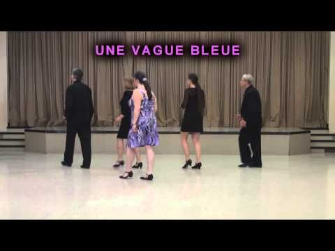 Une vague bleue danse en ligne youtube danses de for Youtube danse de salon