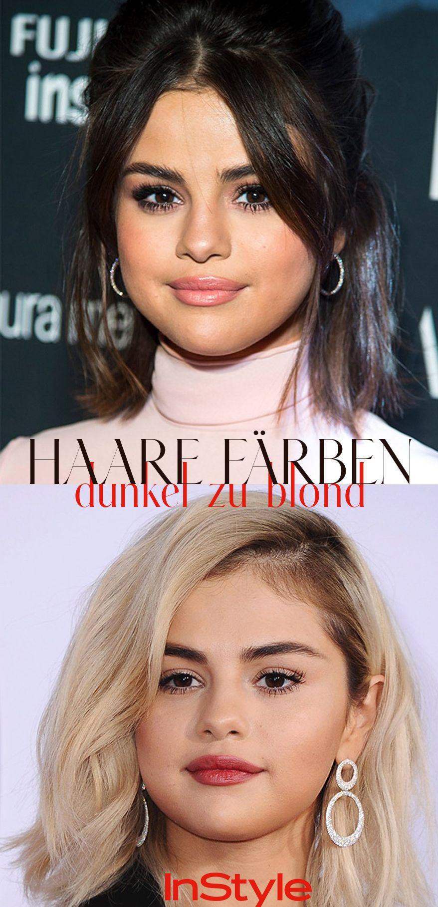 Von Dunkel Auf Blond Färben So Gehts Richtig Blonde