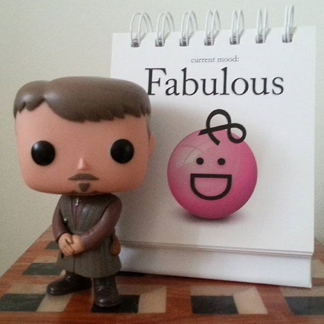 Funko Pop! Petyr Baelish feeling fabulous!