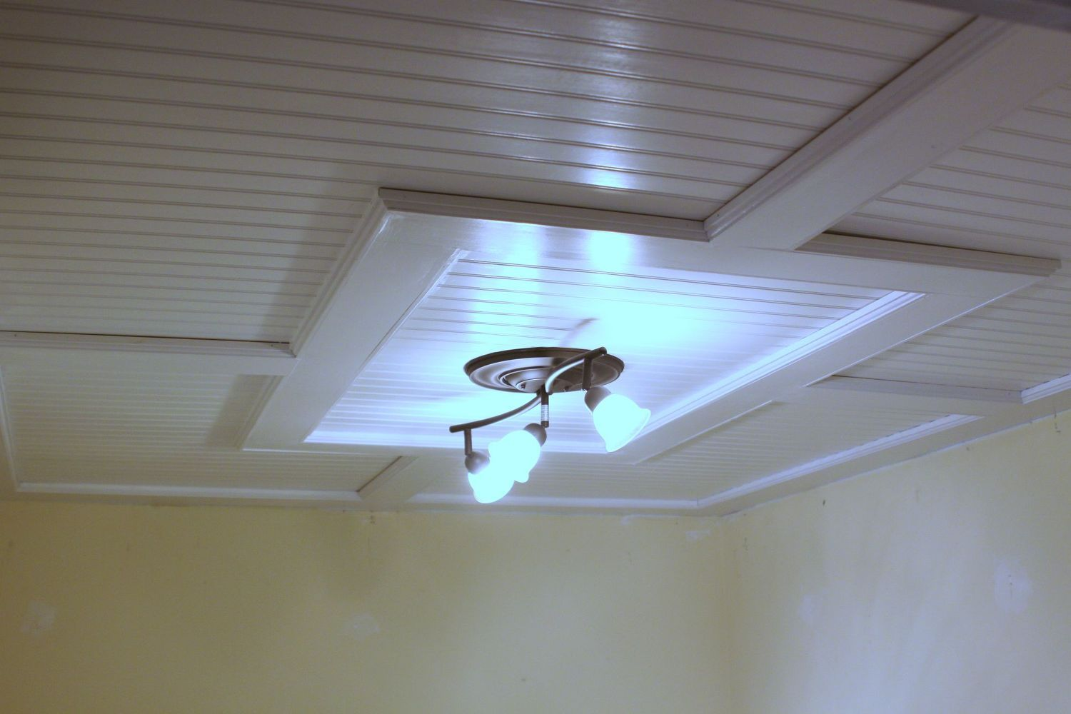 Beadboard Drop Ceiling Dropped Ceiling Basement Ceiling Options Basement Remodeling