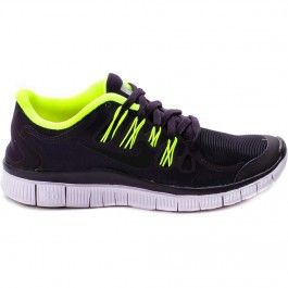 premium selection ab873 23b3f wholesale nike 615987 507 free 5.0 shield womens running shoes purple  dynasty black volt green at
