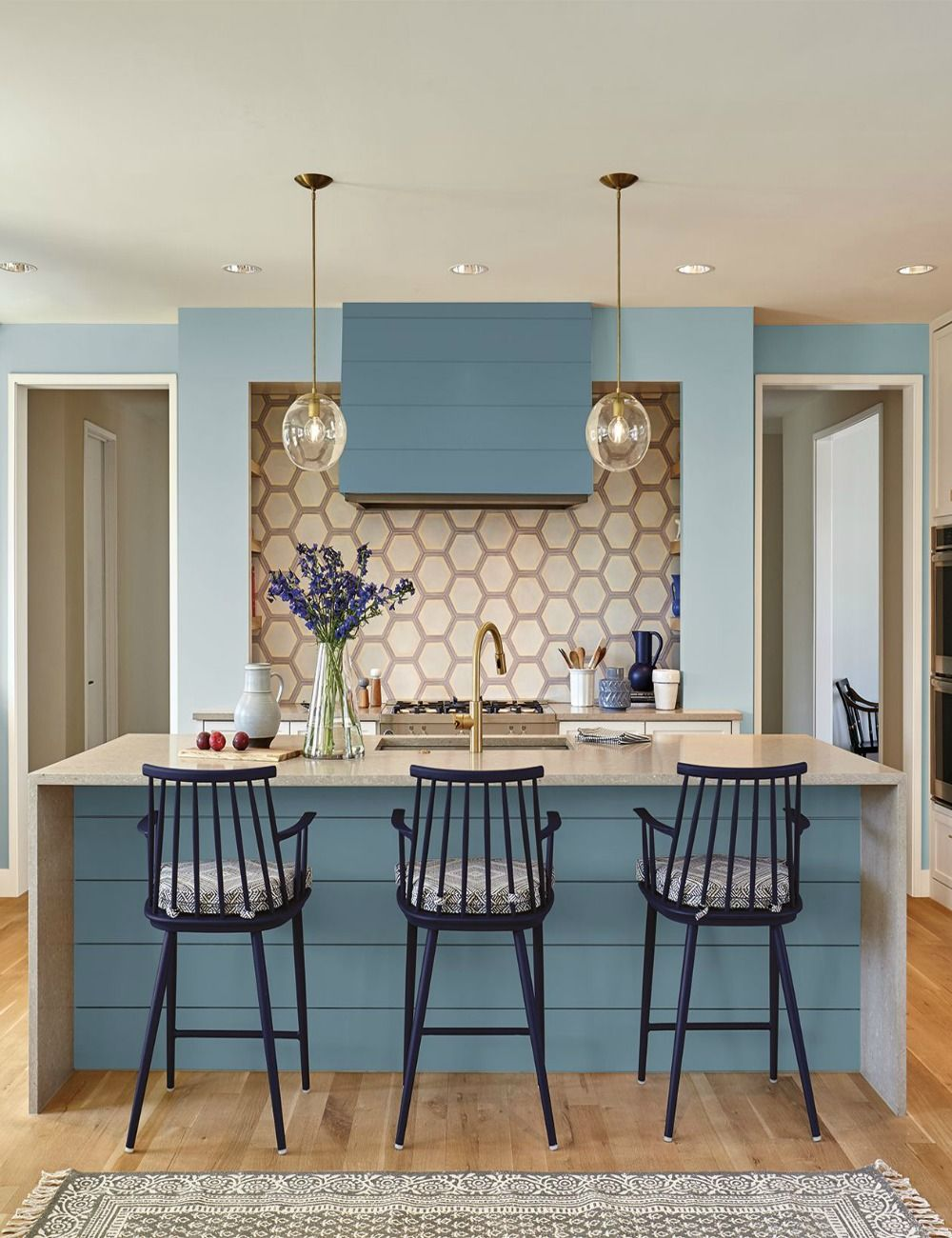 2019 Colors Of The Year Pick A Paint Color Blue Kitchen