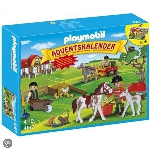 Playmobil Weihnachtskalender.Playmobil Adventskalender Paardenranch Met Extra Verrassingen