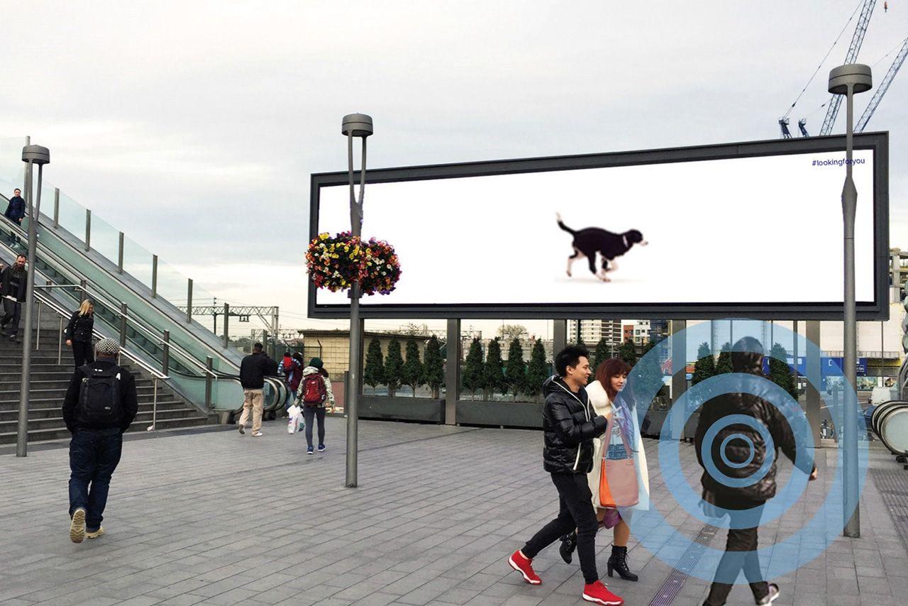 Top 10 Customer Engagement Ads Of 2015 Customer Engagement Battersea Dogs Billboard Design