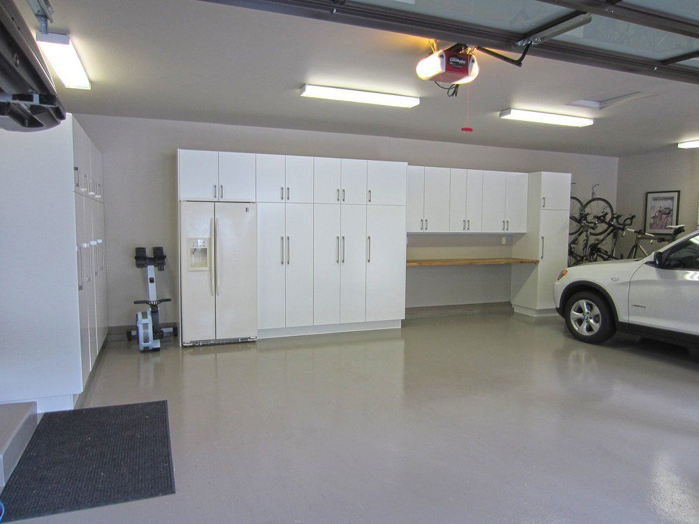 A Garage Renovation In Mercer Island WA Using IKEA Kitchen - Garage renovation pictures