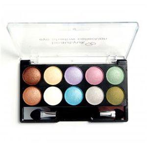 Eyeshadow Set 10 Pastel Shades (Multi)