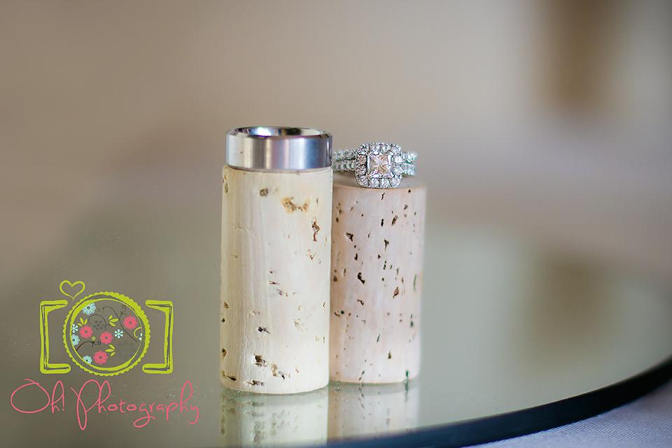 ring shot on corks wedding www.facebook.com/ohphotos