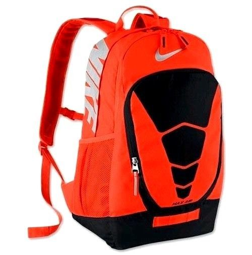 c5c40a0651 NIKE MAX AIR VAPOR backpack with Laptop sleeve NWT Neon Orange Black Large   Nike  Backpack