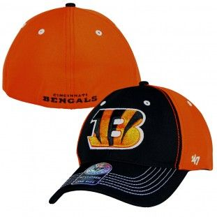 Cincinnati Bengals NFL Carson Stretch Hat (Black)