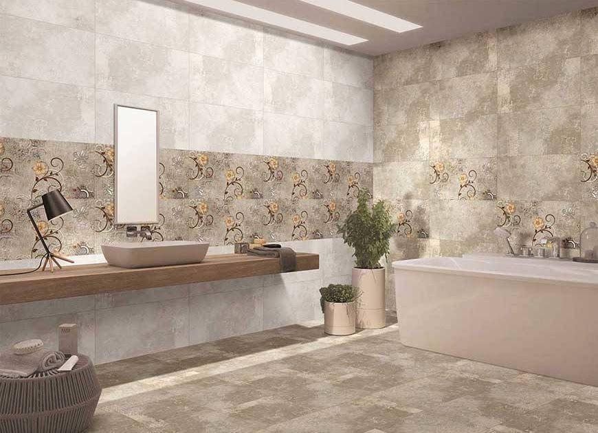 Matt Finish Tiles Designs For Bathroom Kitchens Astounding Nitco Tiles Marble Mosiaco Floor Tile In 2020 Bathroom Wall Tile Design Wall Tiles Design Floor Tile Design