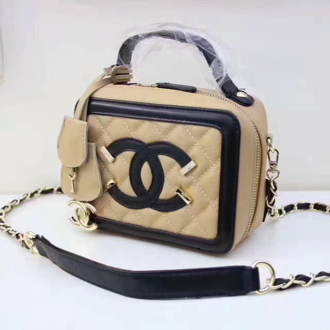 184d017b7040 Chanel Women Shopping Leather Metal Chain Crossbody Satchel Shoulder Bag  522 from Summer11. Saved to