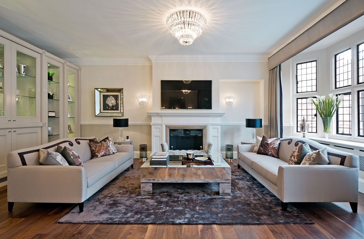 Living #Room The Pimlico #Sofa in situ © Hill House Interiors ...