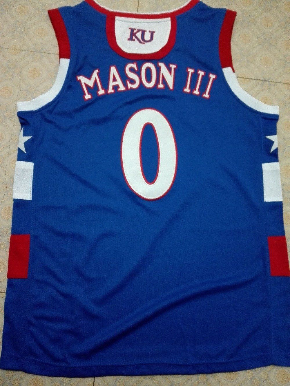 new arrival bc91f 736de Pin by Elizabeth Dibben on KU | Basketball jersey, Kansas ...