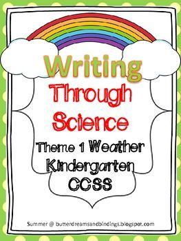 kindergarten writing lesson plans