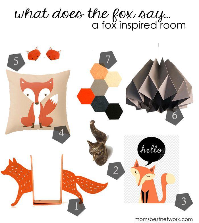 Fox Room Decor